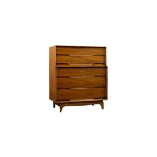 Mid-Century Modern Kent Coffey 'Forum' Highboy Dresser