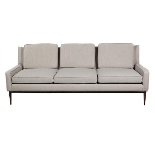 Gray 1950'S VINTAGE PAUL MCCOBB FOR DIRECTIONAL THREE-SEAT SOFA For Sale - Image 8 of 9