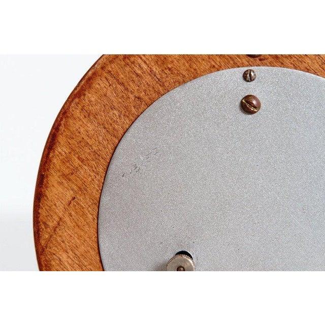 Machine Age Gilbert Rohde Herman Miller Century of Progress Clock, No. 4725B For Sale - Image 10 of 11