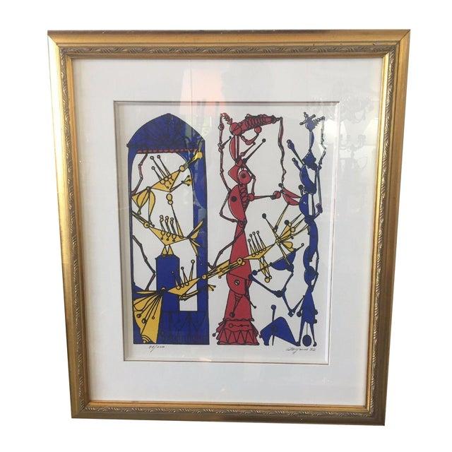Framed Serigraph by Jose M. Mijares - Image 1 of 5