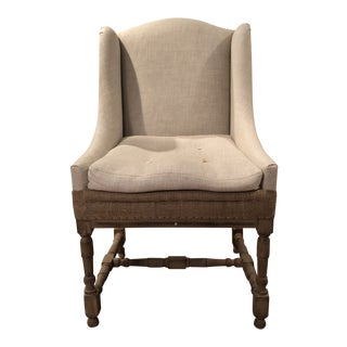 Modern Restoration Hardware Louis XIV Style Chair For Sale