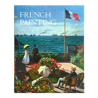 """ French Painting "" Rare Vtg 1991 1st Edtn Landmark Monumental Volume Extra Large Collector's Hardcover Art Book For Sale"