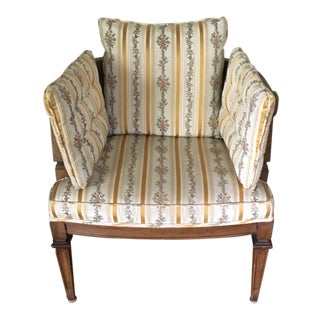 Early 20th Century Antique Baker Round Back Chair For Sale