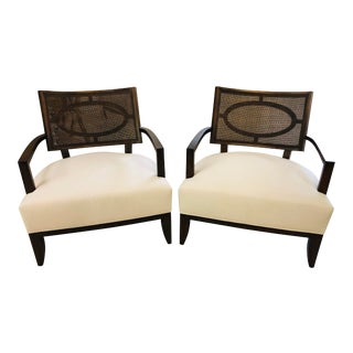 Barbara Barry Chairs - a Pair For Sale