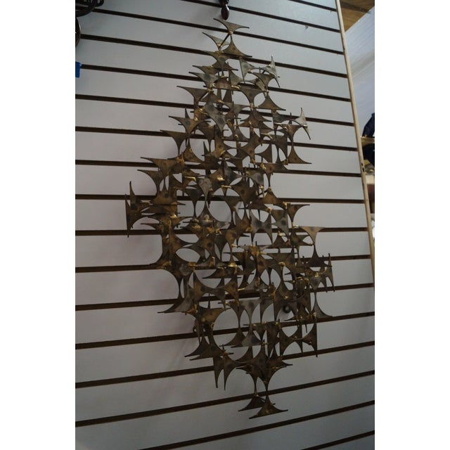 Marc Creates Mid-Century Modern Wall Sculpture For Sale - Image 5 of 10