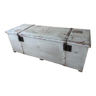 Tuscan Antique Trunk (2 of 2) For Sale