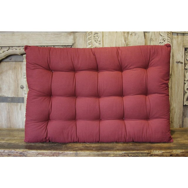 Asian Shideh Jaisalmer Floor Cushion For Sale - Image 3 of 5