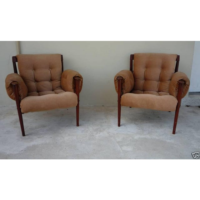 1950's Vintage Greta Jalk & Poul Jeppesen Chairs- A Pair For Sale - Image 11 of 11
