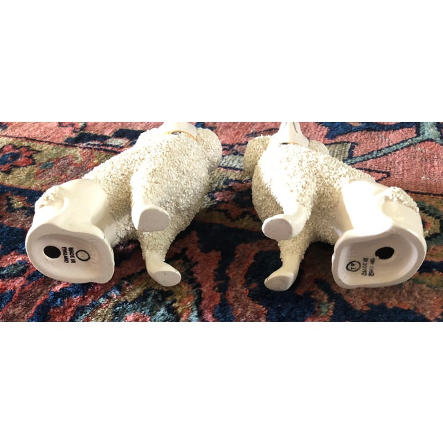 English Antique Staffordshire Poodle Dog Figurines- a Pair For Sale - Image 3 of 13