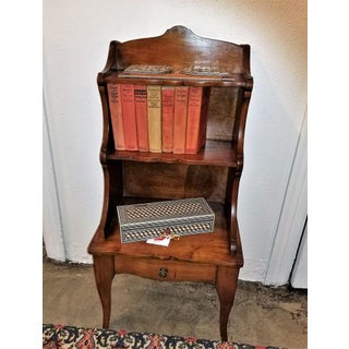 18th Century French Country Cherrywood Side Table or Open Case Preview