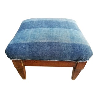 French Antique Foot Stool