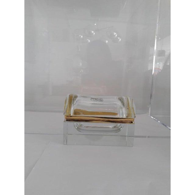 Boho Chic Vintage Murano Glass Box- Mandruzzato For Sale - Image 3 of 11