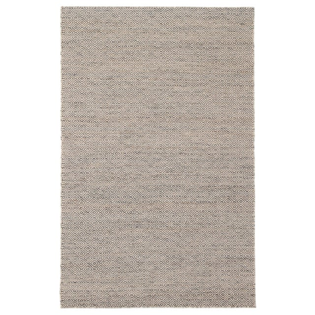 Jaipur Living Wales Natural Geometric Gray/ White Area Rug - 9′ × 12′ For Sale In Atlanta - Image 6 of 6
