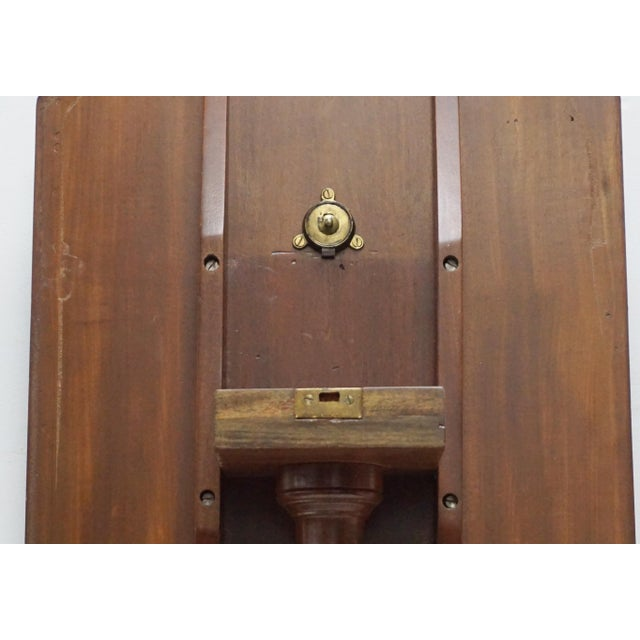 Antique Tilt-Top Mahogany Tripod Table For Sale In Palm Springs - Image 6 of 6