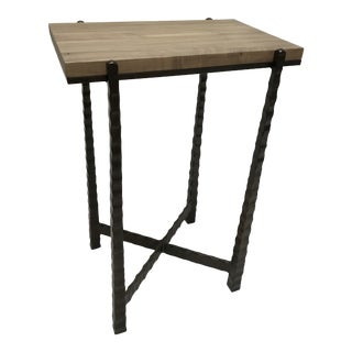 Modern Charleston Forge Nash Rectangular Drink Table For Sale
