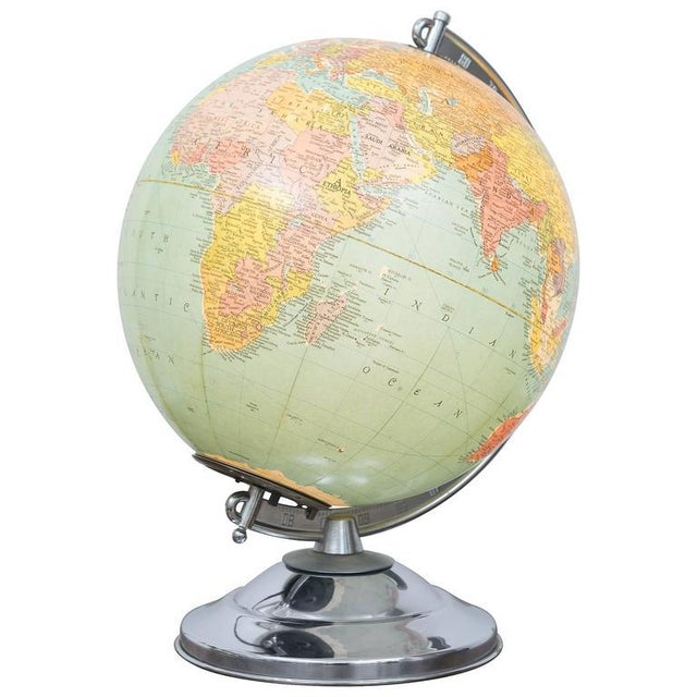 Illuminated Replogle Library Globe - Image 9 of 9