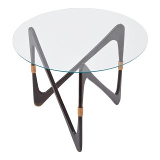Elegant Italian Coffee Table in the Style of Cesare Lacca, 1950s For Sale