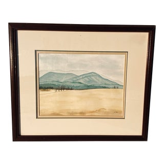 Original Watercolor Painting of the Smoky Mountains, by j.c. Toole For Sale