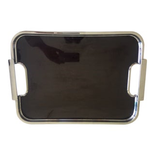 English Art Deco Besway Chromo Tray For Sale