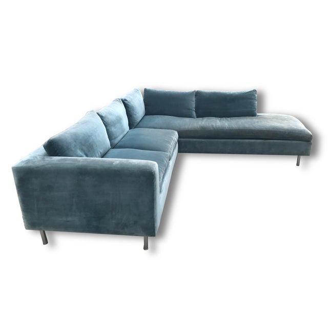 Mid-Century Custom Sectional For Sale - Image 4 of 4