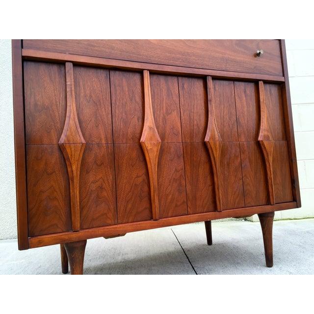 Mid Century Modern Highboy Dresser - Image 5 of 11