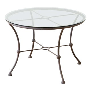 Mario Papperzini for Salterini Style Garden Patio Table For Sale