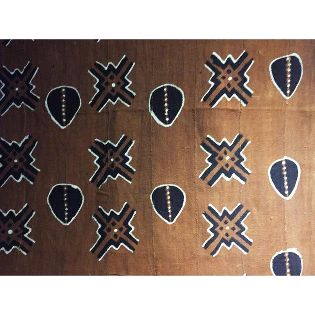 Textile Bogolan Mali Mud Cloth Textile For Sale - Image 7 of 11