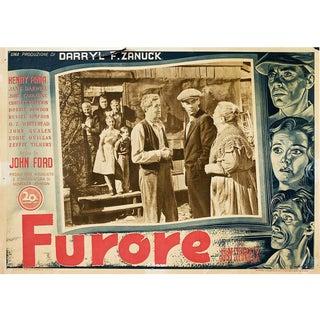 The Grapes of Wrath 1948 Italian Fotobusta Film Poster For Sale