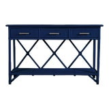 Image of Aruba Sideboard - Navy Blue For Sale