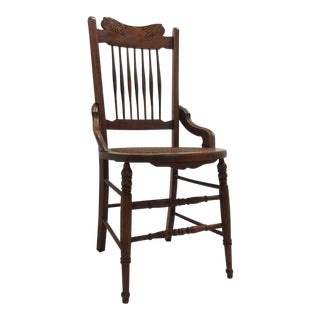 Antique Victorian Dining Side Chair For Sale