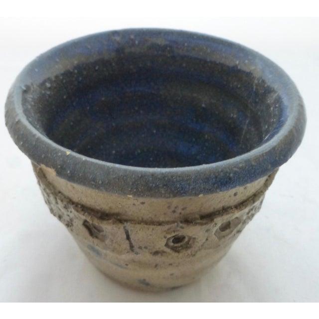 Studio Pottery Mid Century Signed Studio Pottery Vase For Sale - Image 4 of 10