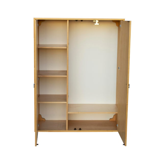 Mid-Century Modern Modular Hutch or Wardrobe by Jack Cartwright for Founders For Sale - Image 3 of 12