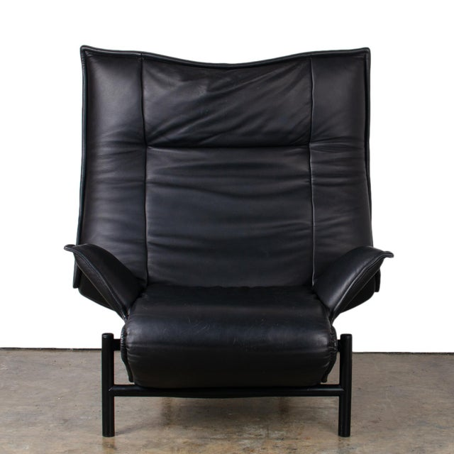 Cassina 1980s Vintage Vico Magistretti Veranda Lounge Chair for Cassina For Sale - Image 4 of 12