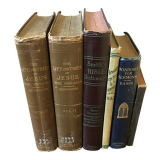 Vintage Religious Books- a Set of 6 For Sale