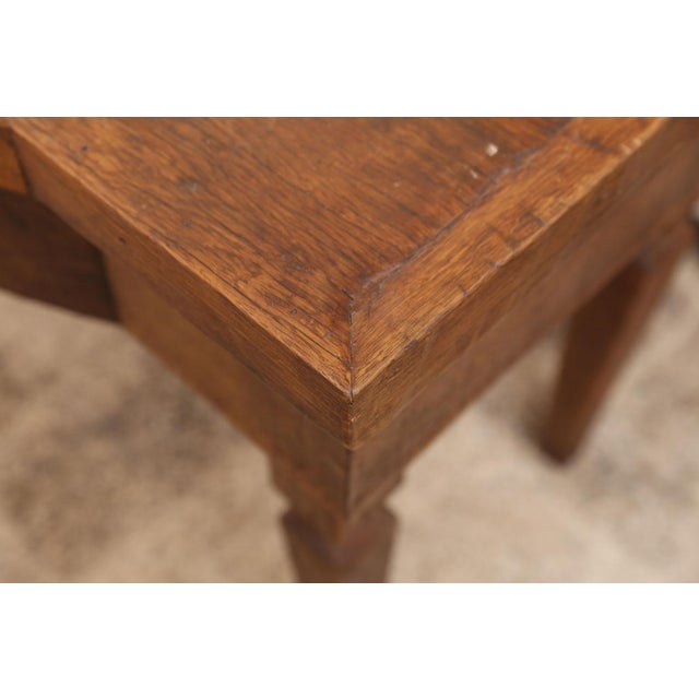 French Walnut Vanity Table For Sale In Houston - Image 6 of 8