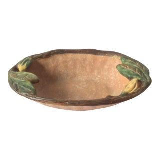 Weller Pottery Flower Bowl For Sale