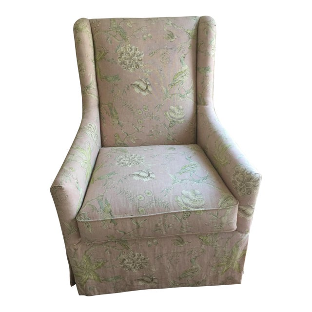 Century Furniture Lawson Slipcovered Host Chair - Image 1 of 8