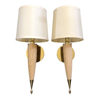 Transitional Boyd Lighting Piedmont Sconces - a Pair For Sale