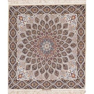 Pasargad Persian Isfahan Davari Rug - 4′11″ × 5′6″ For Sale
