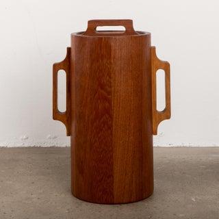 1960s Danish Modern Jens Quistgaard Ihq Dansk Staved Teak Banded Ice Bucket Preview