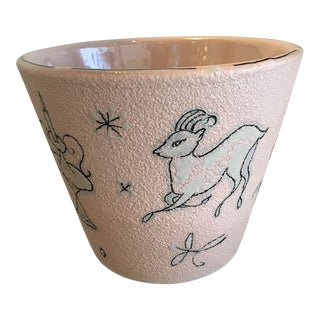 1950s Vintage Italian Fratelli Fanciullaci Planter For Sale