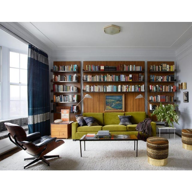 Impeccable Mohair Designer Sofa in the Style of Jean-Michel Frank For Sale - Image 9 of 10