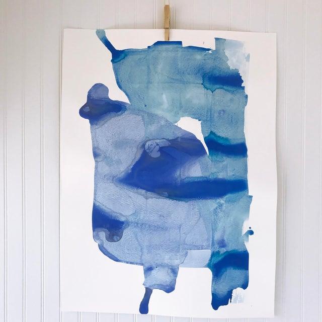 "Kate Roebuck ""Glacier"" Original Painting - Image 2 of 3"