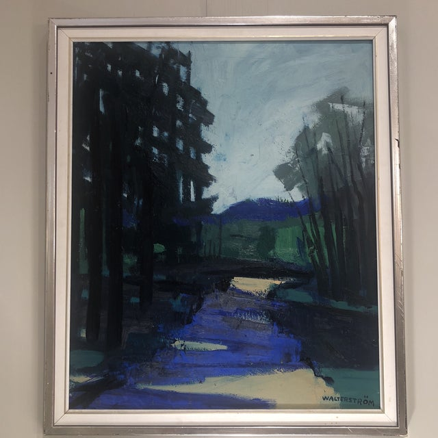 """""""Twilight at the Edge of the Forest"""" Painting For Sale - Image 4 of 13"""