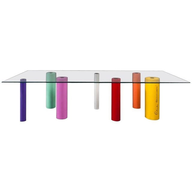 2000 - 2009 'Palafitte' Table by Cleto Munari, 2008, Limited Edition 99 Example For Sale - Image 5 of 5
