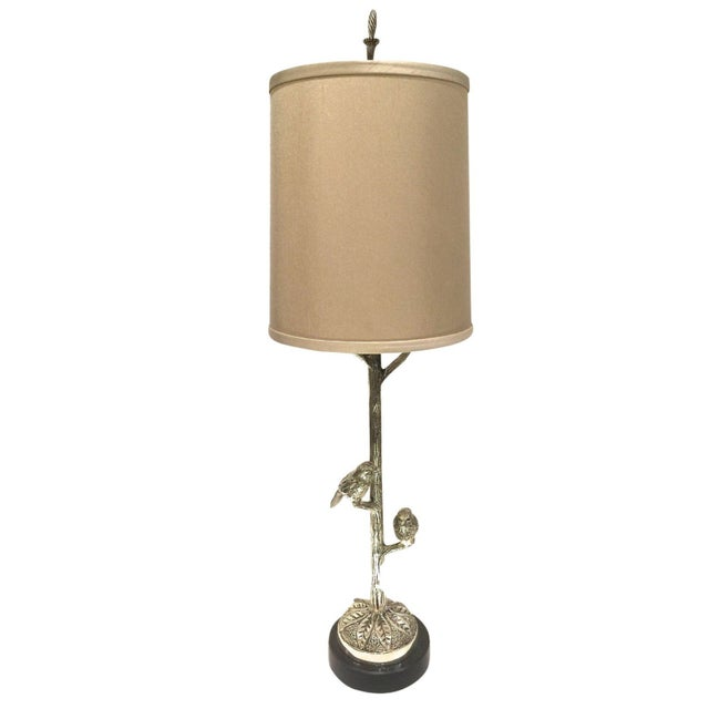 Transitional Perching Birds Table Lamp - Image 1 of 4