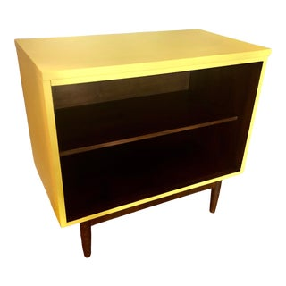 1960s Mid Century Bookshelf or Record Cabinet For Sale