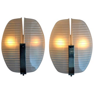 Pair of Lambda Sconces Designed by Vico Magistretti for Artemide For Sale