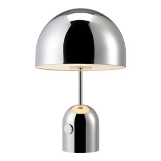 Tom Dixon Bell Table Lamp Chrome For Sale