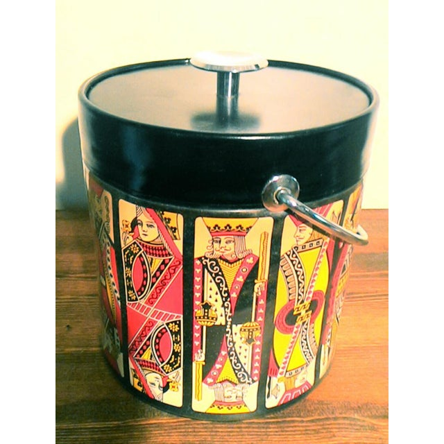 Mid-Century Card Theme Ice Bucket - Image 5 of 7